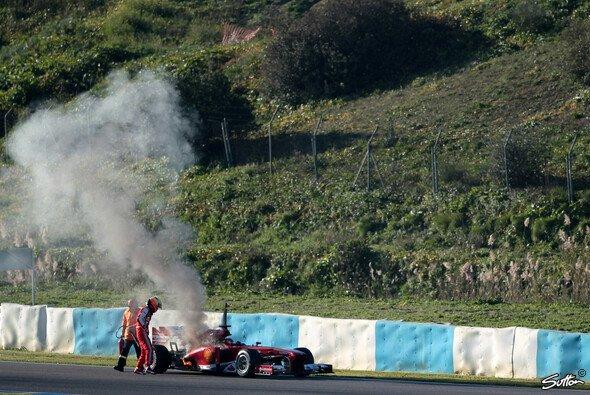 Heißer Start ins neue Jahr: Bei den Tests in Jerez ging es rund