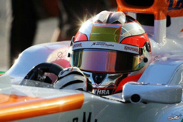 Zweimal Di Resta, einmal Sutil, einmal Bianchi - Force India hat in Spanien viel vor