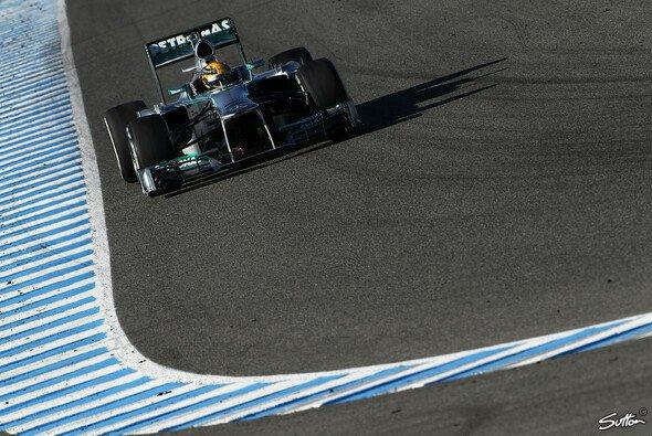 Lewis Hamilton macht sich keine Sorgen, dass der W04 eventuell nicht die Kurve bekommt