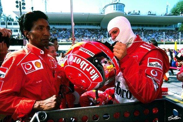 Balbir Singh war von 1995 bis 2005 ständiger Begleiter von Michael Schumacher
