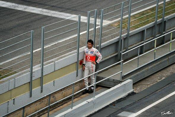 Noch steht Sergio Perez bei McLaren ziemlich allein da - der Fokus liegt scheinbar auf Jenson Button