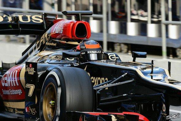 Wenn Räikkönen im Cockpit sitzt, will er fahren, nicht reden - Foto: Sutton