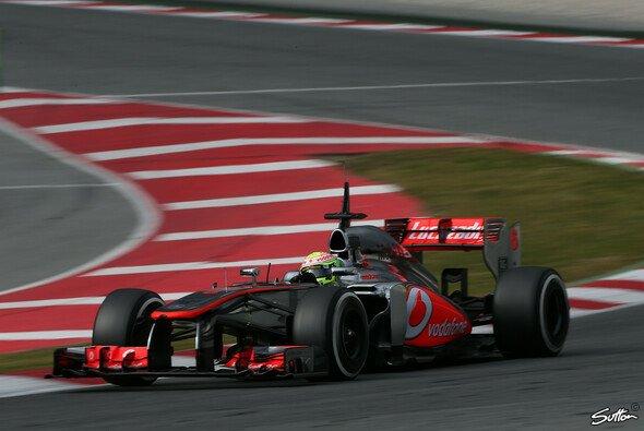 Absolute Bestzeit für Sergio Perez am Mittwoch