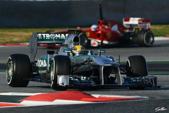 Mercedes & Ferrari machten zuletzt in Barcelona einen schnellen Eindruck