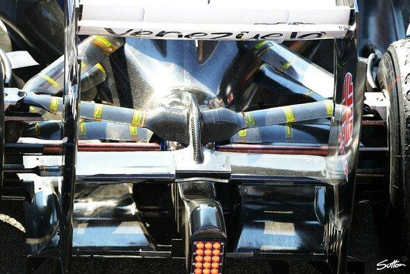 Der Williams sorgte in Barcelona für den meisten Gesprächsstoff