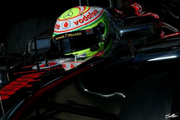 Die Bestzeit als Lichtblick: Doch an der Reifenfront sieht Perez dunkle Wolken aufziehen
