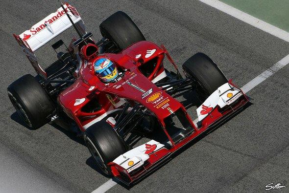 Fernando Alonso war der Schnellste