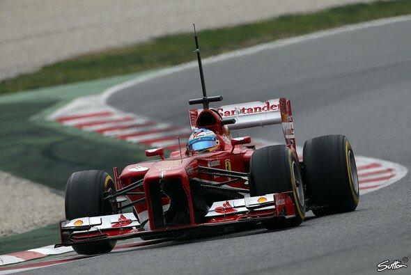 Fernando Alonso verabschiedet sich mit der Bestzeit aus Barcelona