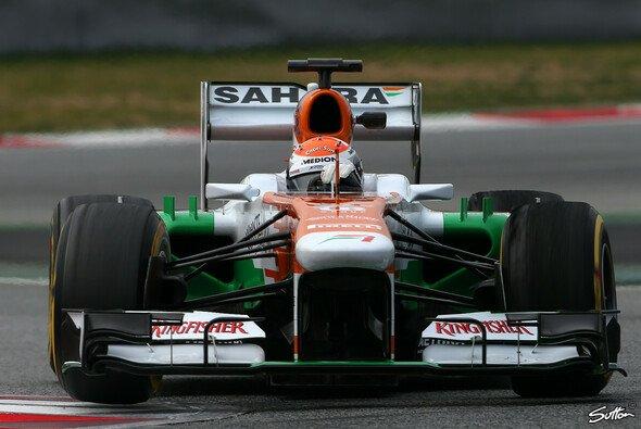 Adrian Sutil dürfte am Donnerstag im Force India ran