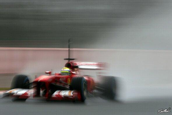 Felipe Massa pflügte durch den Regen