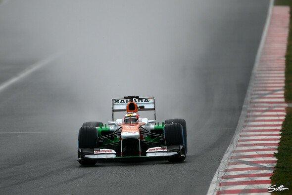 Bianchi gab im Regen sein Bestes