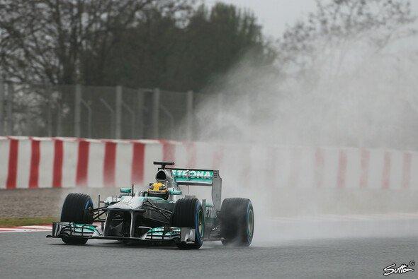 Lewis Hamilton setzte die schnellste Rundenzeit am Freitag
