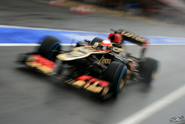 Romain Grosjean fuhr am Freitag die zehntschnellste Rundenzeit