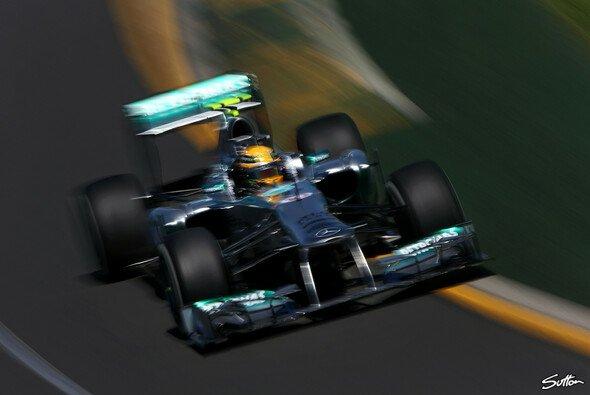Christian Danner sieht klare Fortschritte bei Mercedes - Foto: Sutton