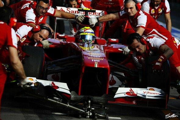 Ferrari zeigte Risikobereitschaft an der Box