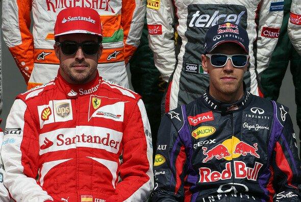Fernando Alonso und Sebastian Vettel - 2014 in der gleichen Kluft?