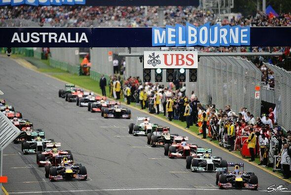Die Saison startet wie gehabt in Melbourne