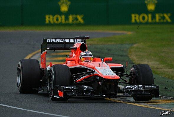 Jules Bianchi beeindruckte bei seinem Formel-1-Debüt