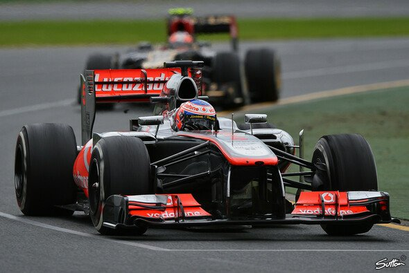 Jenson Button zweifelt nicht am ob, sondern am wann - Foto: Sutton