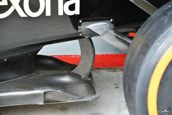 Auch Lotus braucht sich keine Sorgen um die Legalität des Splitters machen - Foto: Sutton