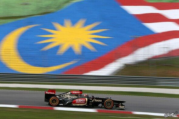 Räikkönen fuhr in Malaysia die schnellste Zeit - Foto: Sutton