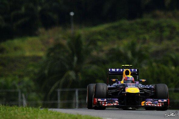 Mark Webber war der schnellste im FP1 - Foto: Sutton