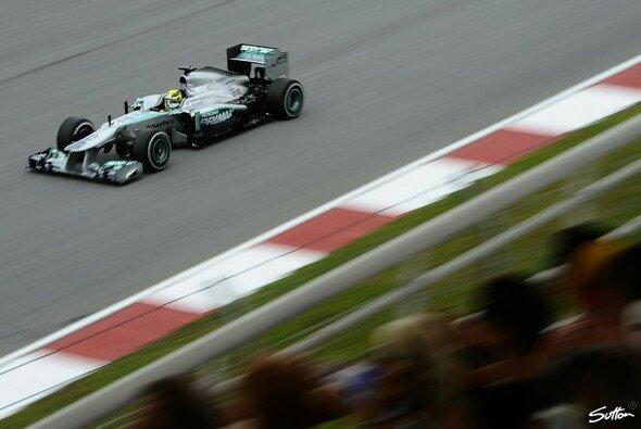 Nico Rosberg legte eine beeindruckende Leistung an den Tag