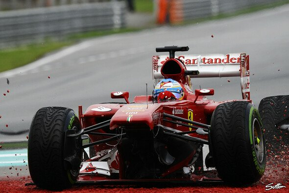 Für Fernando Alonso war das Rennen nach einer Runde zu Ende