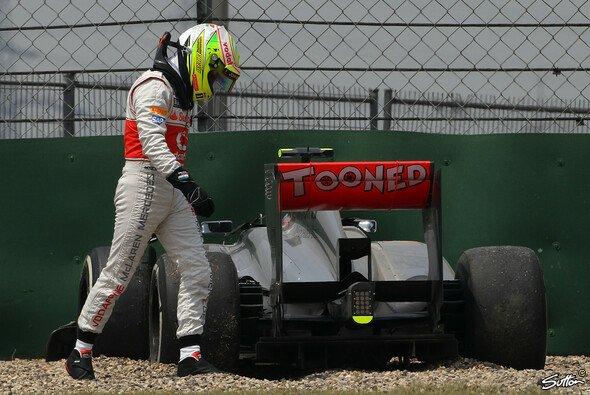 Für Sergio Perez war bei McLaren nach nur einer Saison Schluss - Foto: Sutton