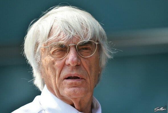 Bernie Ecclestone steht den V6-Motoren kritisch gegenüber