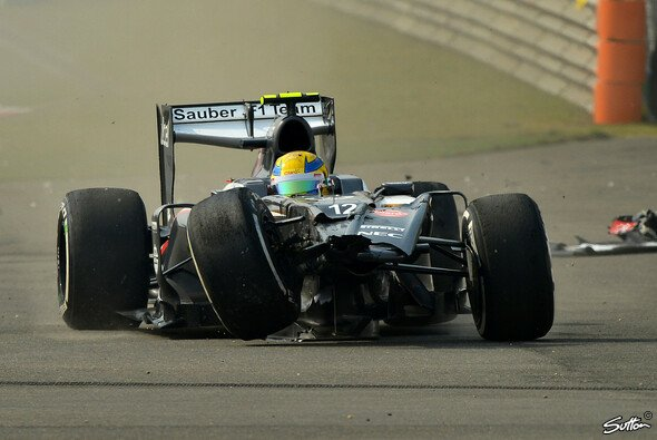 Beim China Grand Prix knallte es ordentlich - Foto: Sutton