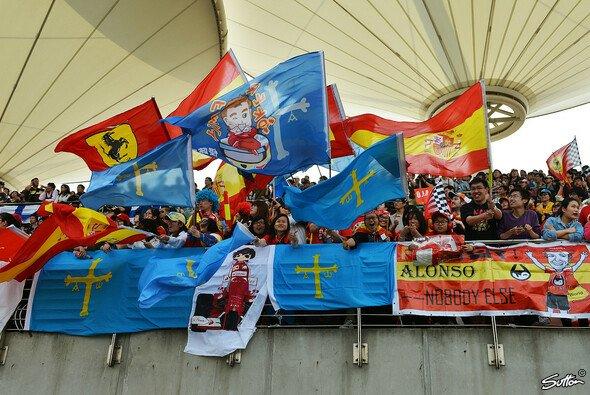 Nicht so viele, aber dafür sehr euphorische Fans in China