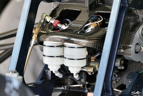 Das Fahrwerk eines modernen Formel-1-Autos ist äußerst kompliziert