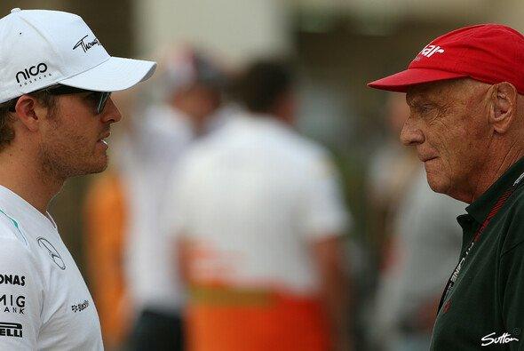 Lauda freut sich für Rosberg