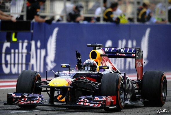 Sebastian Vettel feierte in Bahrain seine zweiten Saisonsieg