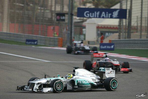 Nico Rosberg kam in Bahrain trotz der Pole nicht über P9 hinaus