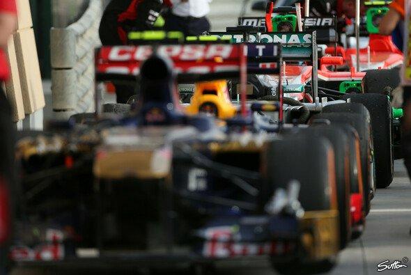 Toro Rosso liegt derzeit vor Williams und Sauber