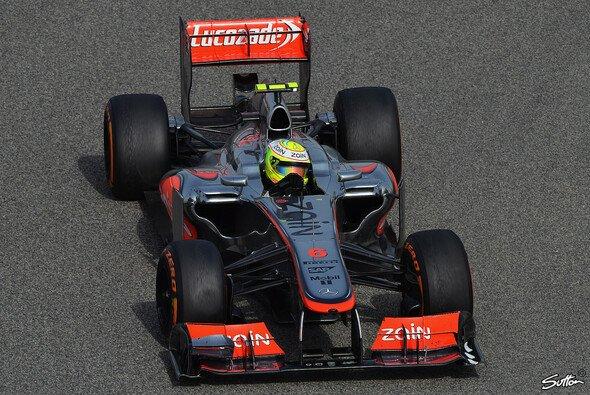 Perez ist nach seinem gelungenen Auftritt in Bahrain erleichtert - Foto: Sutton