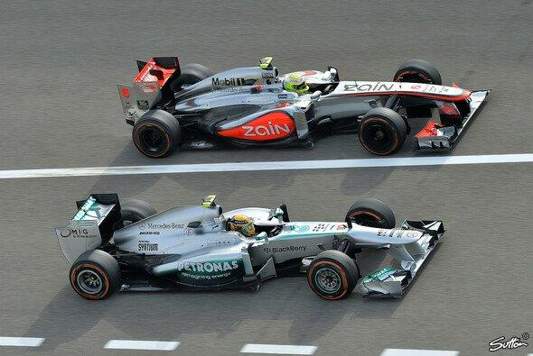 In der Formel 1 geht es dieses Jahr nicht selten Kopf an Kopf zu