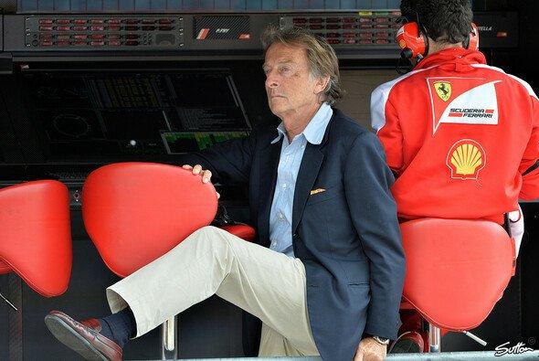 Ferrari-Präsident Luca di Montezemolo geht scharf auf die Simulator-Abhängigkeit in der Formel 1 los - Foto: Sutton