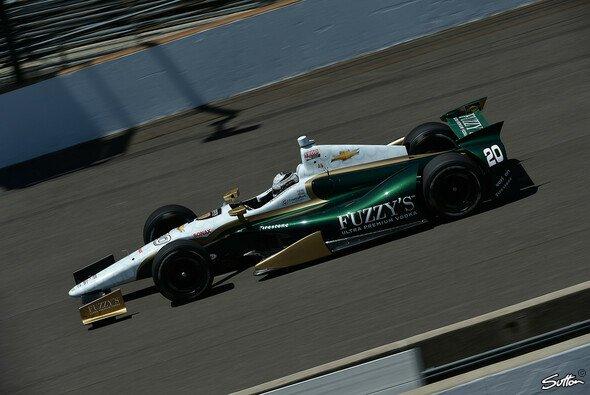 Ed Carpenter sichert sich den ersten kleinen Indy-Siegerscheck