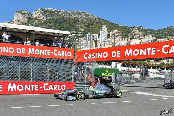 Nico Rosberg holte sich die Bestzeit in Monaco - Foto: Sutton