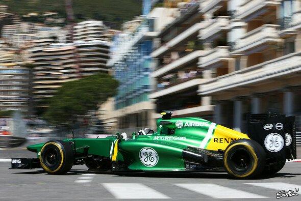 Caterham prügelt sich auch in Monaco um die letzten Plätze