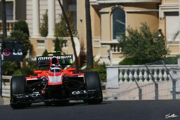 Marussia war im Training schneller als Caterham - Foto: Sutton
