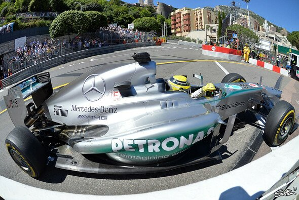 Rosberg markierte die Donnerstags-Bestzeit - Foto: Sutton