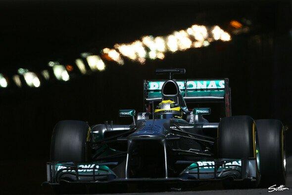 Nico Rosberg setzte sich von der Konkurrenz ab - Foto: Sutton