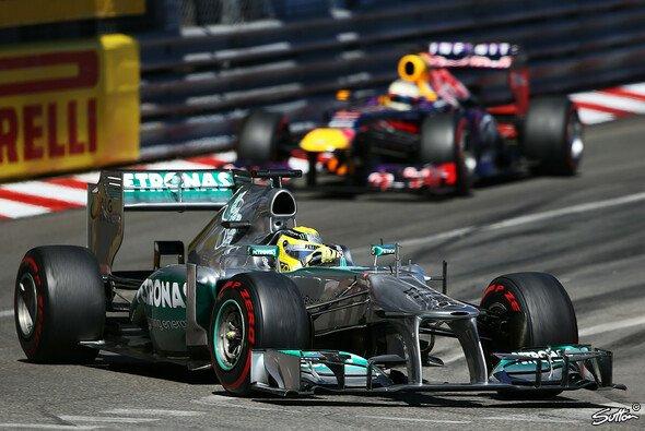 Am Sonntag besiegte Nico Rosberg Red Bull: Das Duell ging jedoch danach abseits der Piste weiter