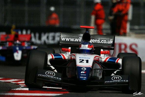 Derzeit ist Stevens in der Formel Renault 3.5 unterwegs
