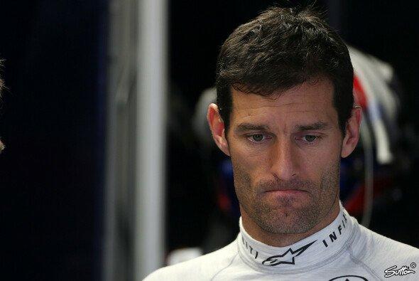 Mark Webber muss seine zweite Verwarnung des Jahres zu Kenntnis nehmen
