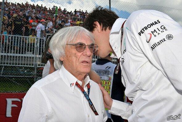 Bernie Ecclestone ist von Mercedes' Unschuld nicht überzeugt